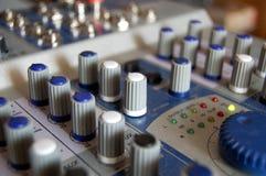 Grabación de sonidos Foto de archivo libre de regalías