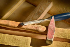 Grabado de madera Imágenes de archivo libres de regalías