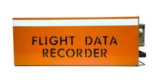 Grabador de datos del vuelo Fotos de archivo libres de regalías