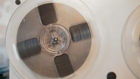 Grabadora de carrete del soiviet del vintage - ascendente cercano metrajes