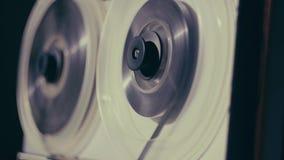 Grabadora de la bobina Cinta vieja del rebobinado de la grabadora del carrete almacen de video