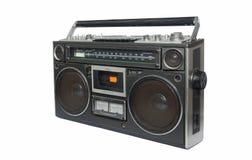 Grabadora de radio del vintage Imagen de archivo