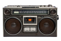 Grabadora de radio del vintage Fotografía de archivo libre de regalías