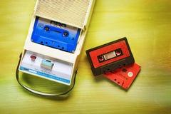 Grabadora del casete del vintage Imagen de archivo