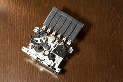 Grabadora dentro del mecanismo Fotografía de archivo libre de regalías