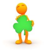grabb 3d: Man för dag för St Patrick ` s Royaltyfri Bild