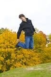 grabbbanhoppning Fotografering för Bildbyråer