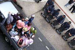 Grabben Fawkes maskerar Royaltyfri Bild