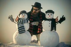 Grabbgentleman för nytt år, mode royaltyfri fotografi