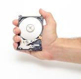 Grabbing data Stock Photo