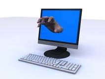 Grabbing hand Stock Image