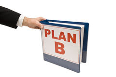 Grabbing Plan B Royalty Free Stock Photo