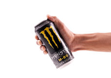 Grabbing Yourself a Monster Stock Images