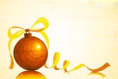 Grabe a Art Christmas Ornament Fotos de archivo libres de regalías