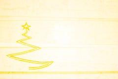 Grabe a Art Christmas Tree Foto de archivo
