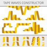 Grabe el constructor de las ondas Fotografía de archivo libre de regalías