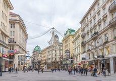 Graben street in Vienna Royalty Free Stock Photo