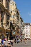 Graben Street In Vienna Stock Images