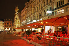 Graben street in Vienna. Austria Stock Photos