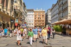 Graben Street In Vienna Royalty Free Stock Image