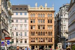 Graben Street In Vienna Stock Photo