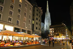 Graben Street in Vienna Royalty Free Stock Photos