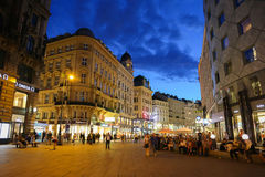Graben Street in Vienna Stock Photo