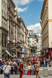 Graben Street, Vienna Royalty Free Stock Photo
