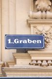 Graben, Vienna Royalty Free Stock Photography