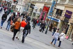 Graben, Wien stockfoto