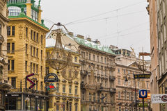 Graben in the Winter Royalty Free Stock Images