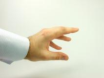 grabing άτομα χεριών κάτι Στοκ Εικόνες