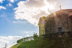 Grabkapelle Stuttgart Mausoleum European Blue Skies Old Architec Stock Photography