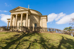 Grabkapelle Stuttgart Mausoleum European Blue Skies Old Architec Royalty Free Stock Image