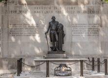 Grabmal des unbekannten Soldaten des Amerikanischen Unabhängigkeitskriegs Lizenzfreies Stockfoto
