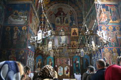 Grabovac kloster Royaltyfria Bilder