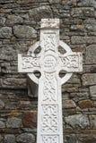 Grabstein des keltischen Kreuzes Lizenzfreie Stockfotografie