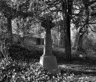 Grabstein des keltischen Kreuzes Lizenzfreie Stockfotos