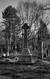 Grabstein des keltischen Kreuzes Stockfotografie