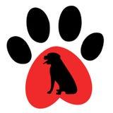 Grabung und Bahnen - Logo Stockbild