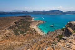 Grabvousa-Insel Kreta stockfotos