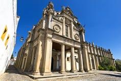 Graca church, Evora, Portugal. Stock Images