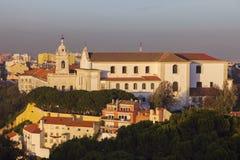 Graca Church in Lisbon Royalty Free Stock Photos