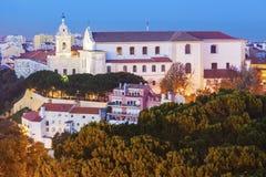 Graca Church in Lisbon Stock Photography
