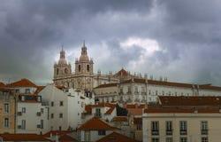 Graca kyrka, Lissabon royaltyfria bilder