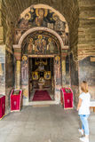 Gracanica сербский правоверный монастырь расположенный в Косове Стоковое фото RF