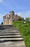 Gracanica kloster arkivfoton