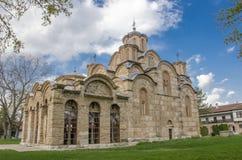 Gracanica monaster - UNESCO światowe dziedzictwo obraz stock