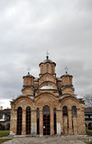 Gracanica - monasterio ortodoxo servio imagenes de archivo