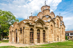 Gracanica is a Serbian Orthodox monastery located in Kosovo. Stock Image